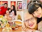 Abhishek Bachchan and Aishwarya Rai celebrated her mother's birthday with Aaradhya.