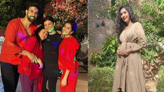 Sushmita Sen's brother Rajeev Sen and sister-in-law Charu Asopa are expecting their first baby.