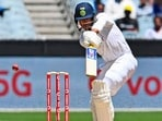 Mayank Agarwal in action during the India-Australia Test series.(Getty Images)