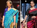 Many Bollywood celebs like Sharmila Tagore, Karishma Kapoor, Lara Dutta wore these during fashion shows and nailed it. Here are five celebrities who rocked the Mekhela Chador look.(Instagram)
