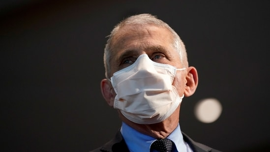 """Dr Anthony Fauci was asked whether he was convinced with the theory that the virus """"developed naturally.""""(Reuters)"""