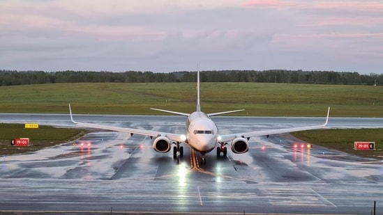 The forced grounding of the European passenger flight Sunday sparked a global outcry with EU-based carriers cutting air links with Belarus and European leaders warning of fresh sanctions.(Reuters)