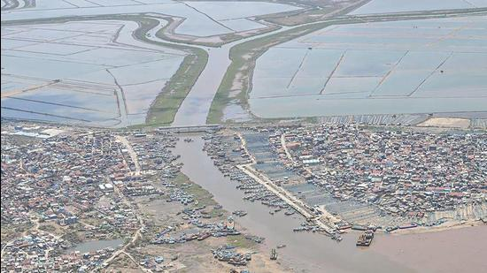 Not only are cyclones relatively uncommon in the Arabian Sea, Tauktae also intensified (measured by the surface wind speed of the storm) rapidly into one of the most severe cyclones in the Arabian Sea in over two decades. (PTI File)