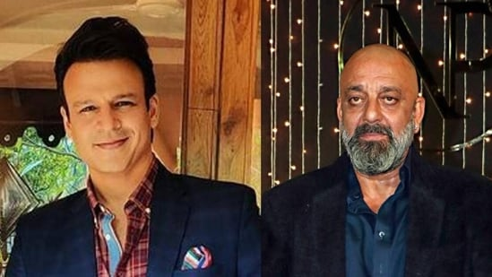 Vivek Oberoi and Sanjay Dutt starred together in Shootout At Lokhandwala.
