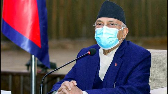 Prime Minister of Nepal KP Sharma Oli. (ANI)