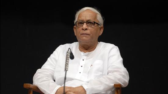 Former Bengal CM Buddhadeb Bhattacharya and his wife both tested positive for Covid-19 on May 18. (HT ARCHIVES.)