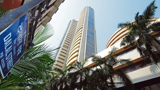 The Nifty is away from its record high just by a hairline, ending at 15,301.45, up 93 points or 0.61%. It touched a lifetime high of 15,431.75 on 16 February.(File photo)