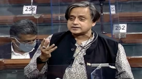Congress leader Shashi Tharoor.(ANI)