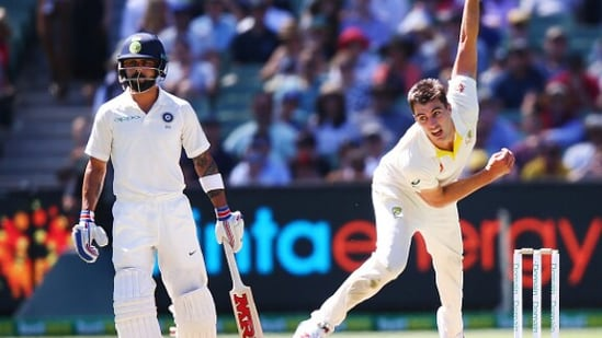 Virat Kohli (left) and Pat Cummins in action. File Photos(Getty Images)
