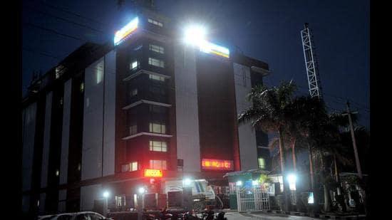 The Mayo Hospital in Sector 69, Mohali. (Ravi Kumar/HT)