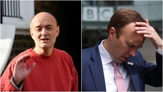 Dominic Cummings said he had told Prime Minister Boris Johnson to fire Hancock.(Reuters)