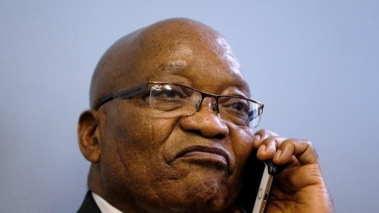 Former South Africa President Jacob Zuma (Reuters File Photo)