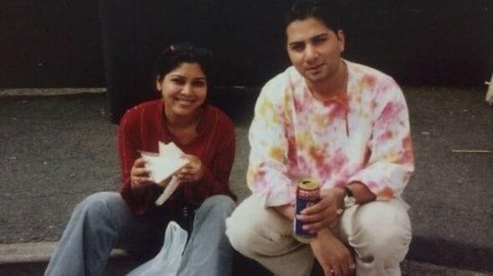 Varun Badola with Sakshi Tanwar.