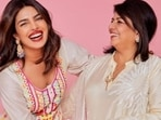 Deepika Padukone and Priyanka Chopra wore seemingly similar outfits in two pictures but Madhu Chopra clearly had a favourite.