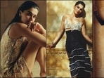 Taapsee Pannu sizzles up Jaisalmer in bold embellished blouse, sultry dresses(Instagram/taapsee/vogueindia)