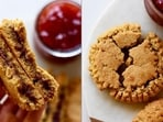 Recipe: Go as dramatic as Kajol from K3G with these PB&J sandwich cookies(Instagram/thisfruitylife)