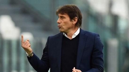FILE PHOTO: Former Inter Milan coach Antonio Conte.(REUTERS)