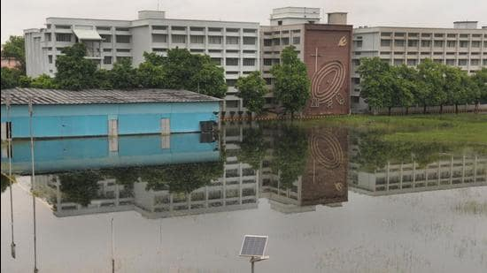 An expert said waterlogging in Patna was the result of too much planning on paper and little execution on the ground. HT File Photo- Representative Use