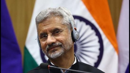 External affairs minister S Jaishankar. (REUTERS)