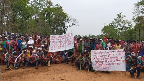 Activists alleged that tribals opposed Silger CRPF camp since they are afraid of alleged harassment by the security forces.(Sourced Photo)