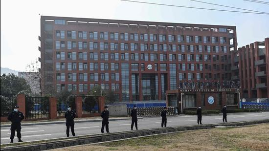 The Wuhan Institute of Virology in China's central Hubei province. (AFP)