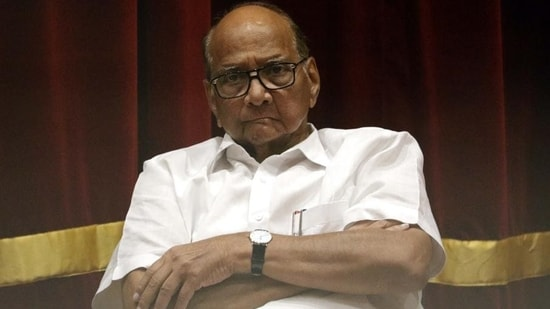 Nationalist Congress Party (NCP) chief Sharad Pawar. (HT file photo)