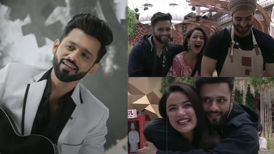Rahul Vaidya releases his new song Aly, featuring memories from Bigg Boss 14.