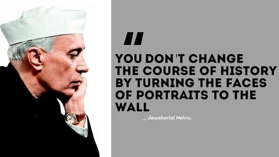 Jawaharlal Nehru death anniversary: Nehru's lesser known facts, inspiring quotes(Twitter/IYC)
