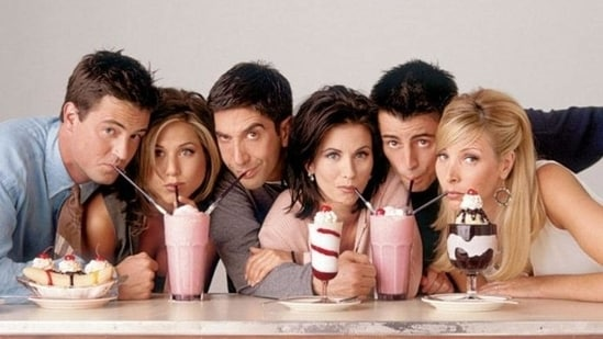 American TV comedy Friends ran for 10 years.