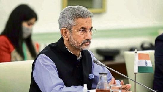 External affairs minister S Jaishankar.(Reuters)