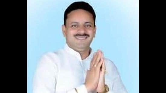 Kuldeep Vats, the Congress MLA from Badli constituency in Haryana's Jhajjar district, who was operated upon in Gurugram on Wednesday. (HTfile photo)