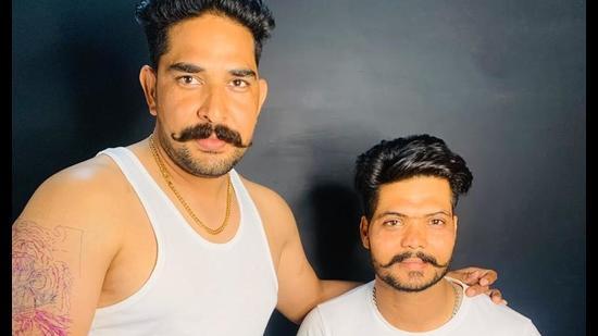 Victims Amandeep Singh, alias Aman Fauji (left), and Prabhjit Singh.