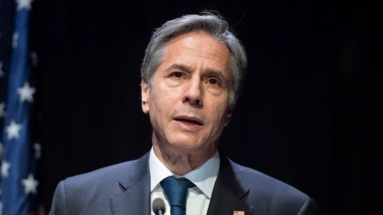 """US Secretary of State Antony Blinken also asked China and the Hong Kong authorities to allow the voices of all Hong Kongers to be heard. """"(AP file photo)"""