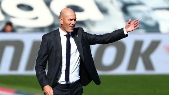 FILE PHOTO:Former Real Madrid coach Zinedine Zidane (REUTERS)