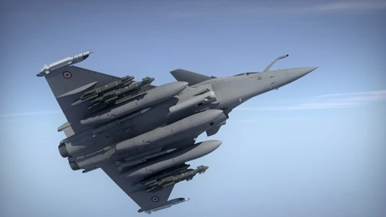 India ordered 36 warplanes from France in 2016.(File photo)