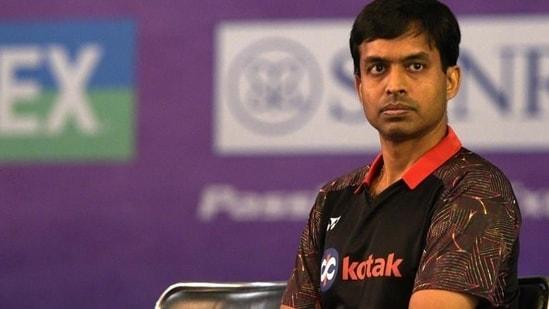 Indian Badminton coach Pullela Gopichand(Mohd Zakir/HT PHOTO)