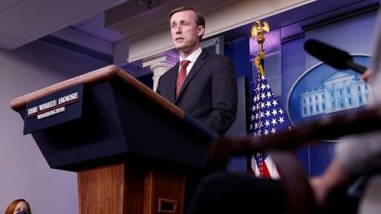 White House National Security Advisor Jake Sullivan.(REUTERS)