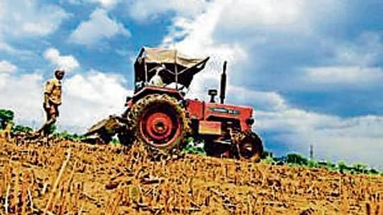 Ind-Ra expects the demand for tractors to suffer in FY22.(Mint file photo)