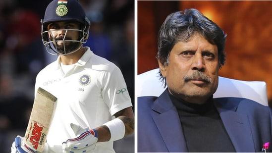 Virat Kohli and Kapil Dev.(AP)