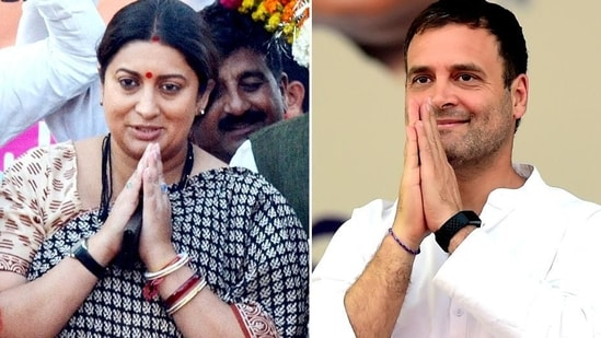 The Congress has now targeted Irani, claiming she had been missing throughout the pandemic when Amethi needed her the most.(Photo Credit: Agencies)