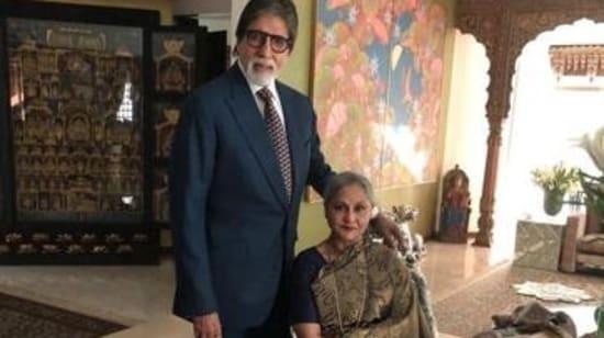 Amitabh Bachchan and Jaya Bachchan at Jalsa(Instagram)