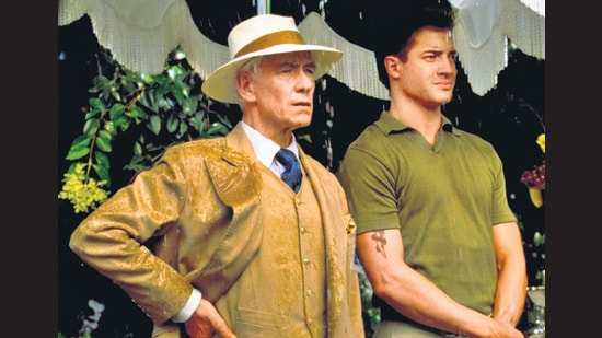 Among the films available via PlanetOut is the 1998 Oscar-winning Gods and Monsters. Ian McKellen plays British director James Whale, in a fictionalised take on his life. Whale was best known for the Frankenstein movies and, in the film, develops a delicate bond with his gardener (played by Brendan Fraser).