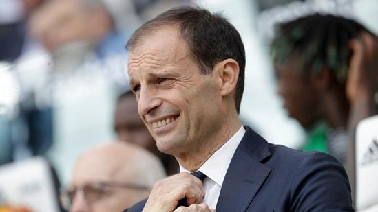 Juventus coach Massimiliano Allegri (AP)