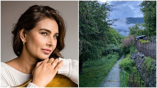 Lisa Ray shared pictures from where she is living right now.