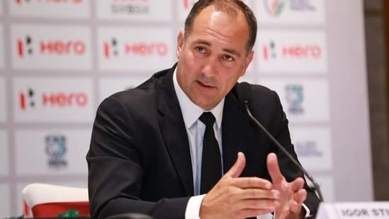 India national coach Igor Stimac.(AIFF)