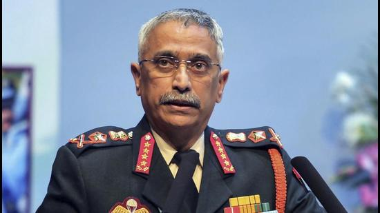 Chief of the Army Staff General Manoj Mukund Naravane said no ceasefire violations by the Pakistan army indicate that infiltration attempts were not being supported but pointed out that the terror infrastructure has not been dismantled yet (PTI)