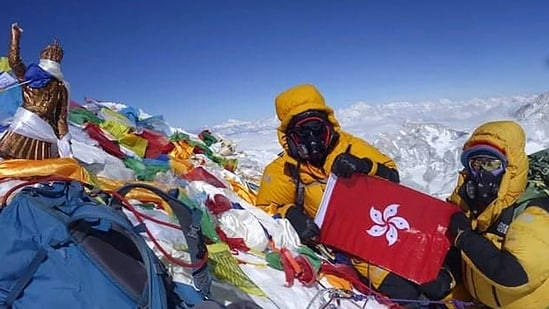 Separately, Hong Kong mountaineer Tsang Yin-hung has recorded the world's fastest ascent of Everest by a woman with a time of just under 26 hours.(AFP)