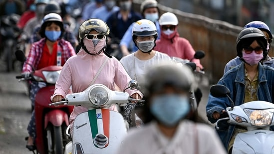 Vietnam -- a country of 97 million people -- has vaccinated a little over a million citizens.(AFP)