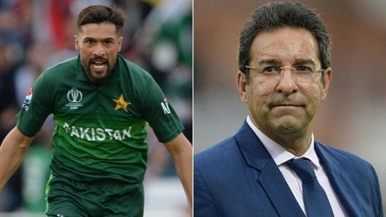 Wasim Akram explains why Mohammad Amir is 'so important' for Pakistan team(HT Collage)