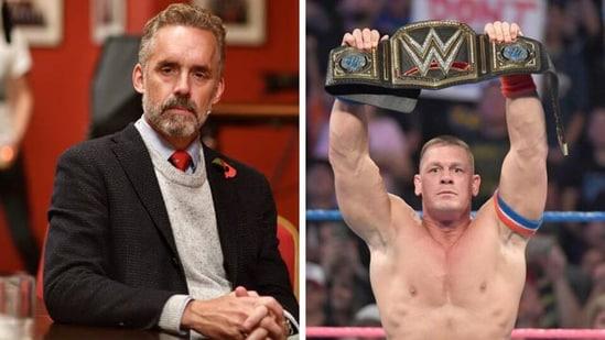 Jordan Peterson on reasons behind the popularity of WWE. (Getty/WWE)